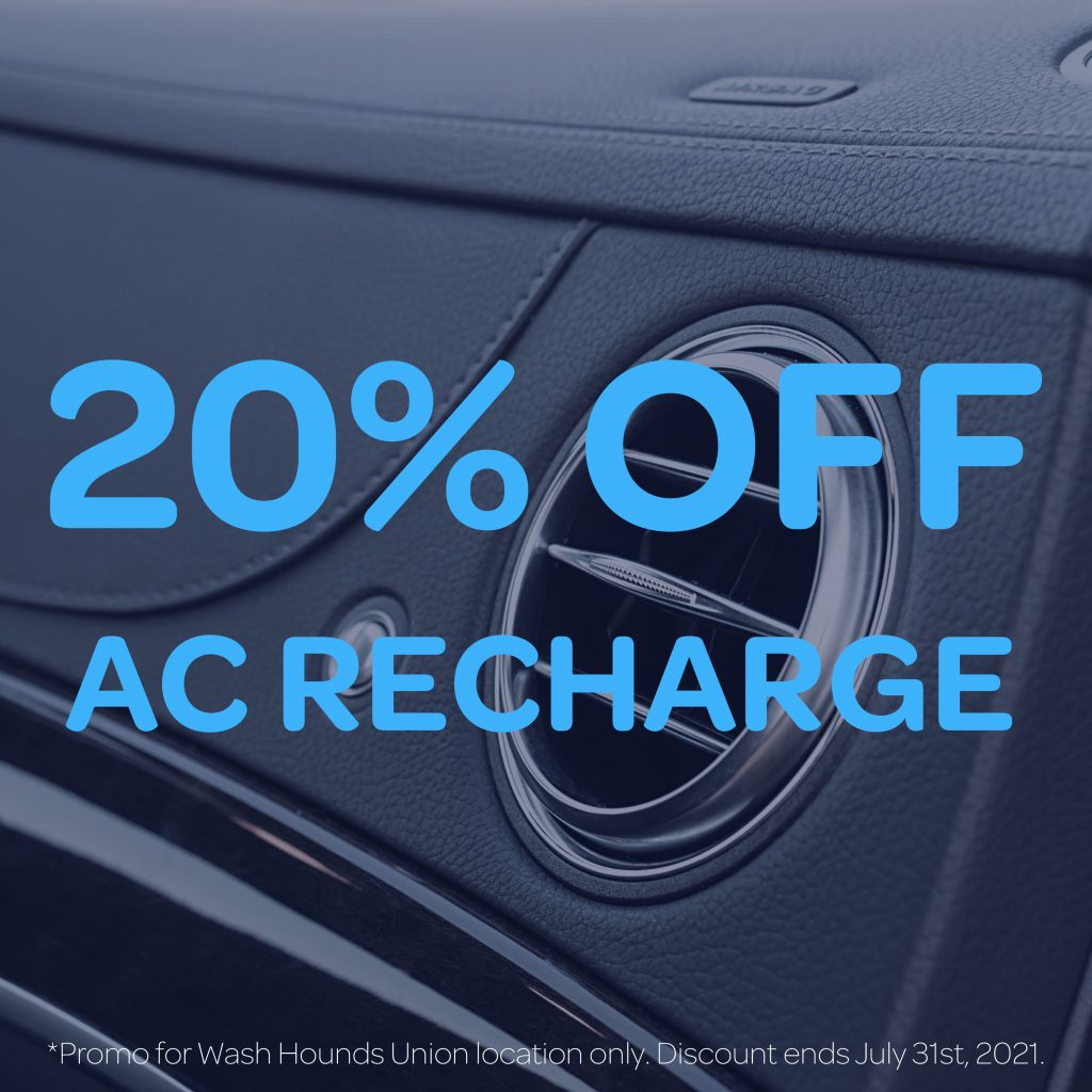 Car auto ac machine being recharged and updated for the summer
